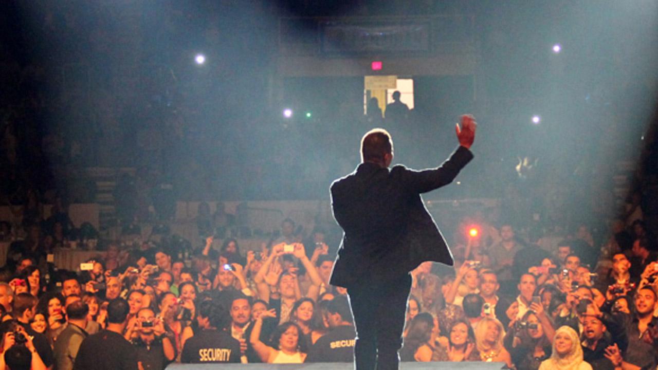 Amr Diab USA tour 2011
