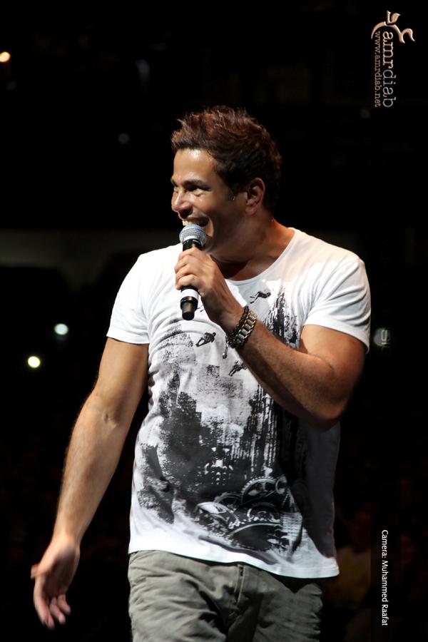 Amr Diab, Du World Music Festival 2012