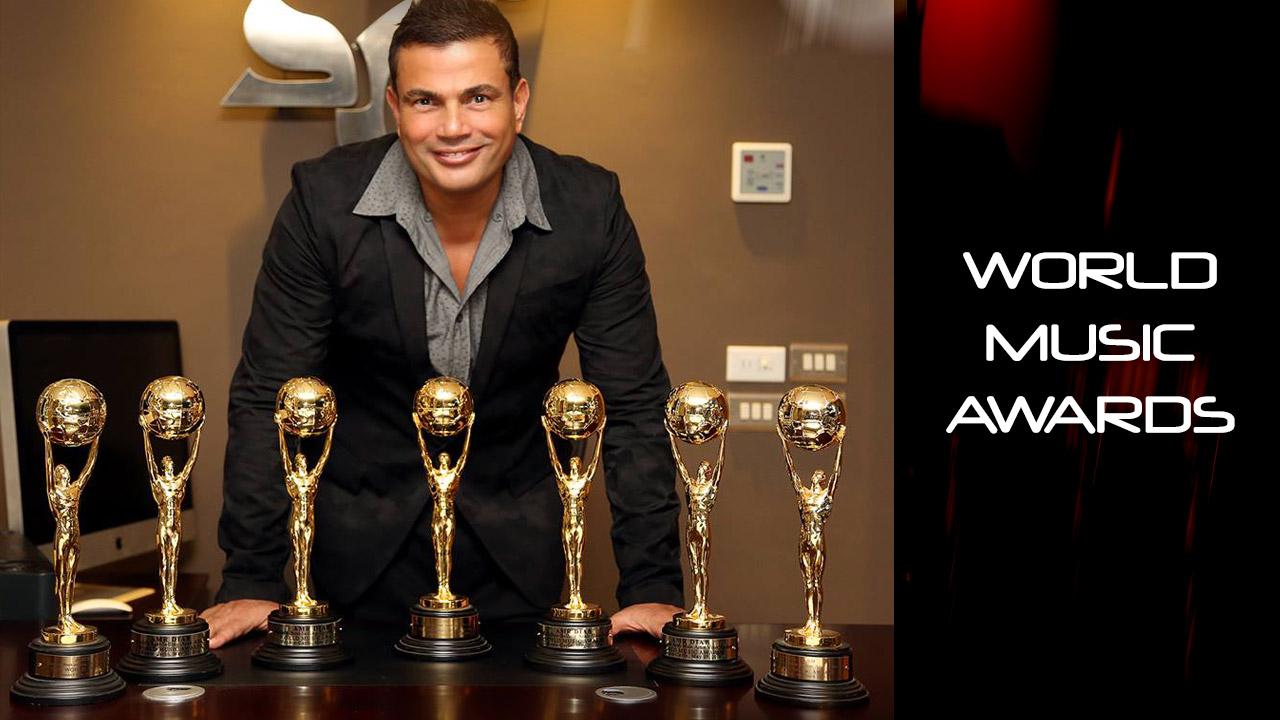 Amr Diab Won World Music Awards 2014