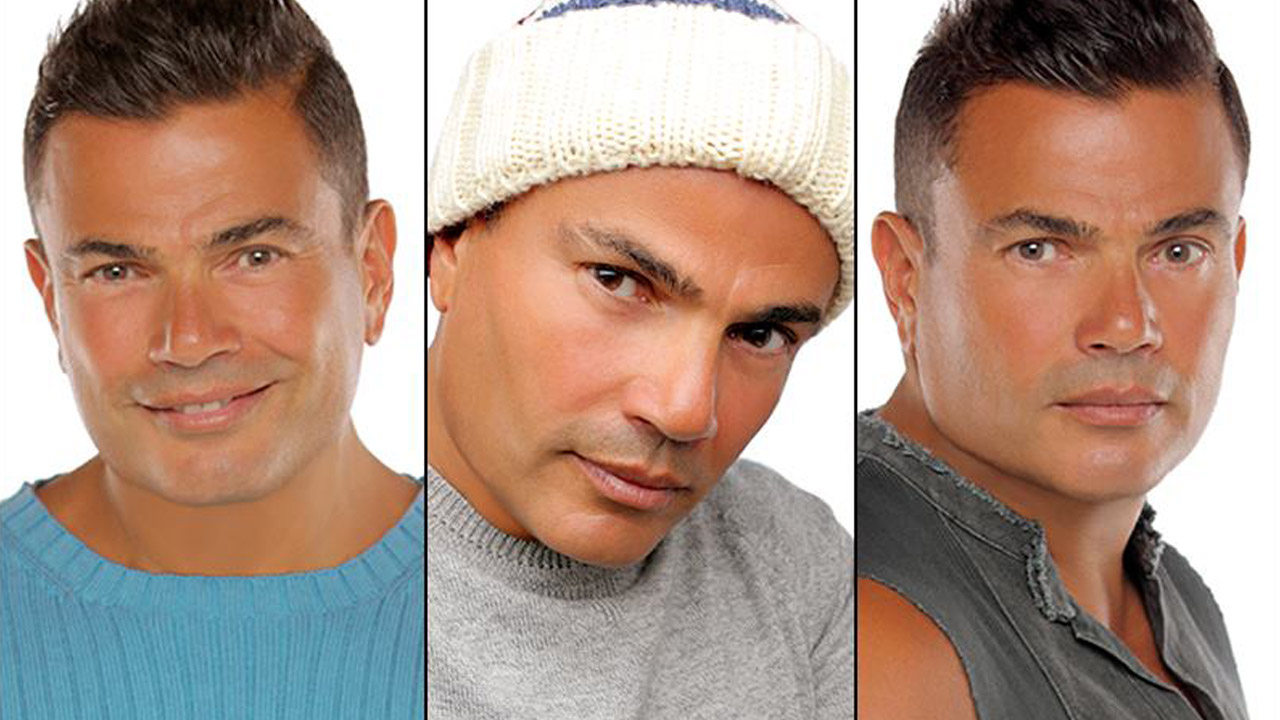 Amr Diab World Campaign with Vodafone