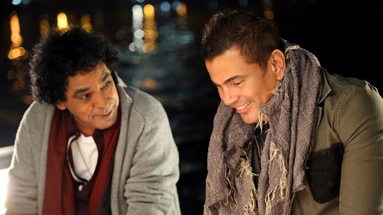 Amr Diab & Mohamed Mounir in Al Qahira Music Video