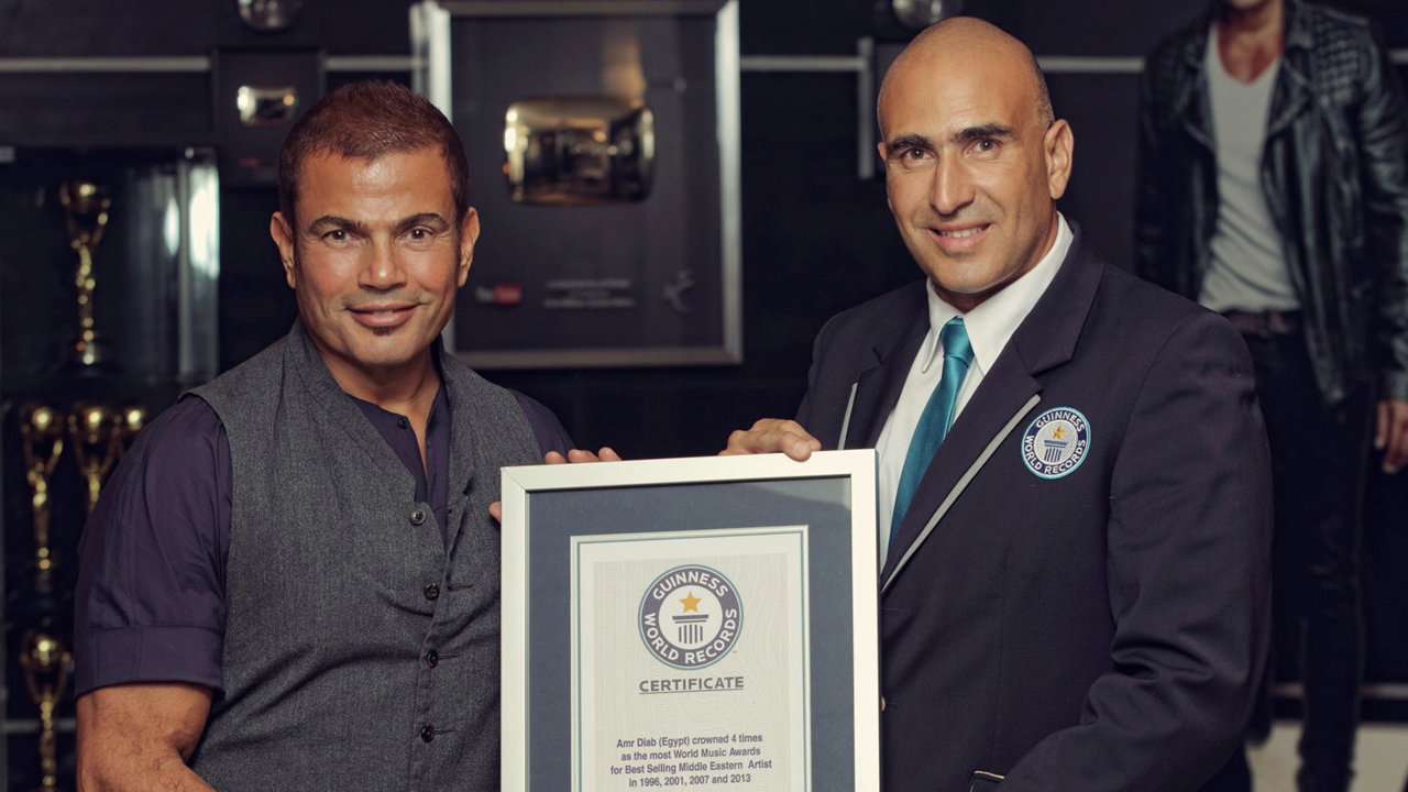 Amr Diab, Guinness World Records