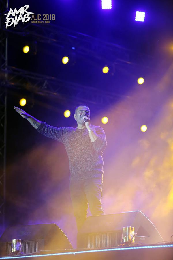 Amr Diab, AUC 2019