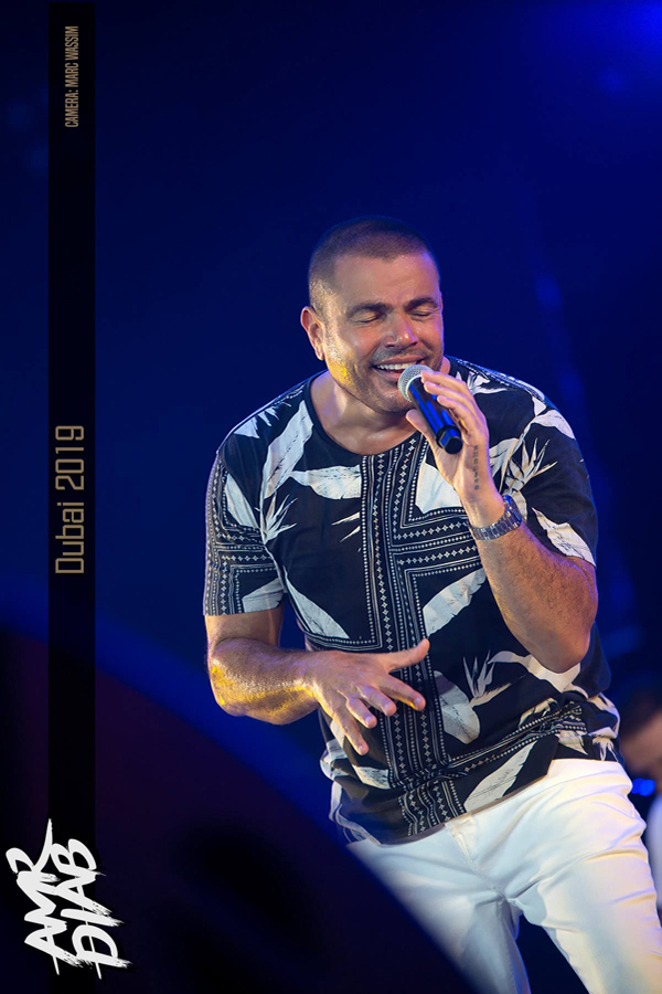 Amr Diab, Dubai Media City 2019