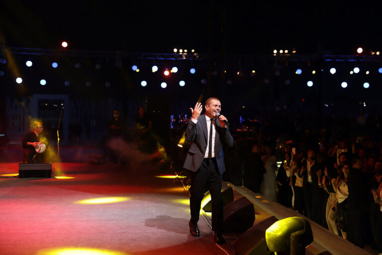 Amr Diab in Private Event, Cairo, October 2020
