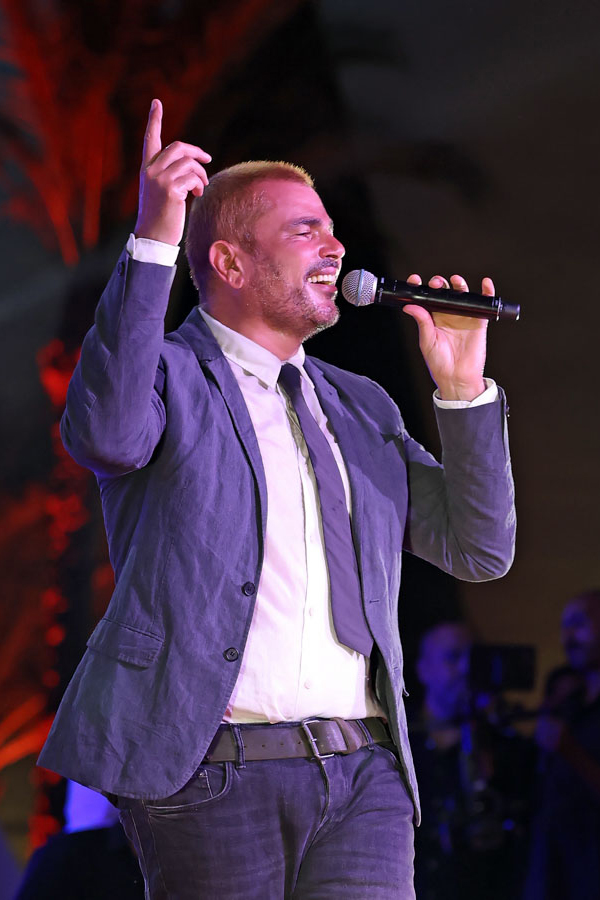 Amr Diab in GFF, El Gouna, October 2020