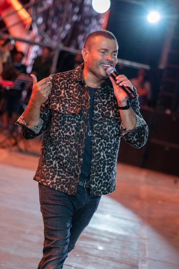 Amr Diab in Dubai, January 2021