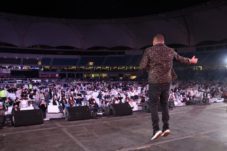 Amr Diab in Dubai, January 2021