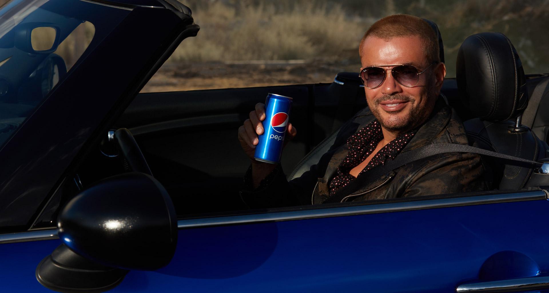 20 Years of Amr Diab and Pepsi