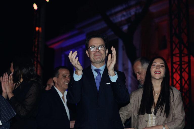 Amr Diab, French Embassy